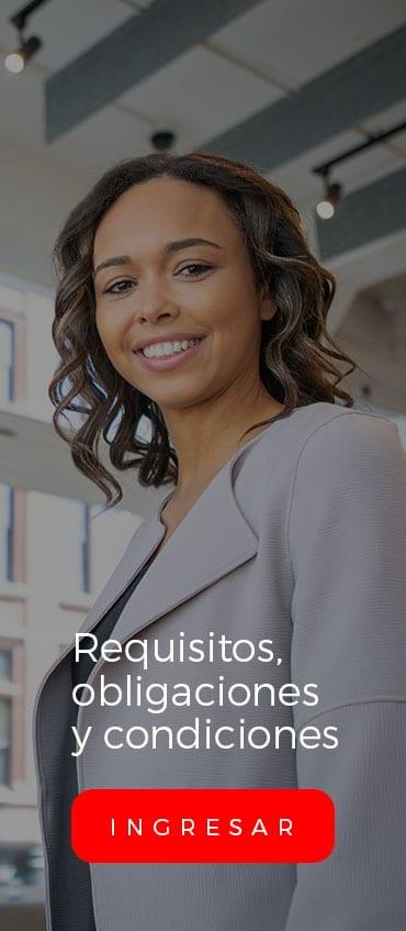 Requisitos, obligaciones y condiciones